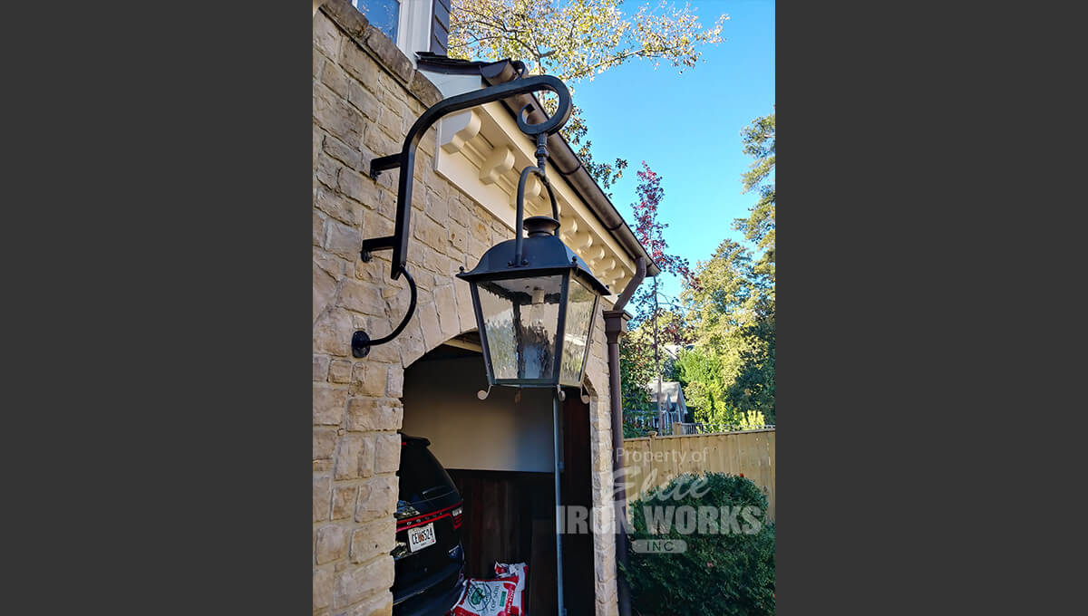 Wrought Iron Awning1