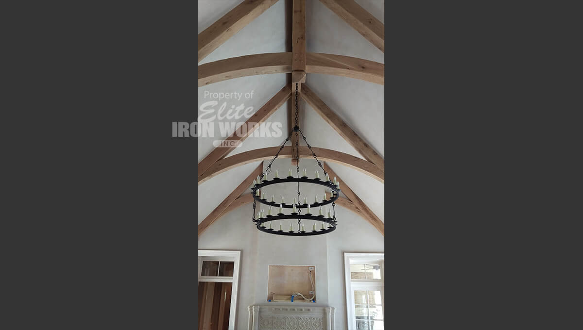 Custom Iron Lighting