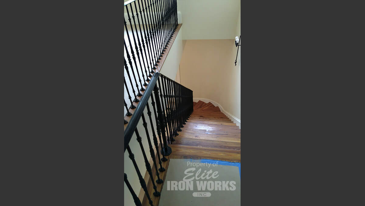 Traditional Interior Railing